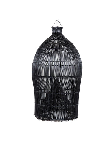 Fishing Basket Pendant Black L