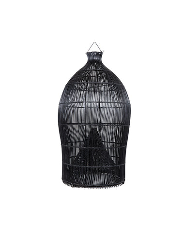 Fishing Basket Pendant Black M