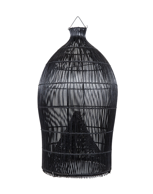 Fishing Basket Pendant Black XL