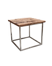Chill Side Table (railway wood)