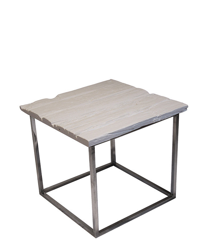 Chill Side Table (railway white)
