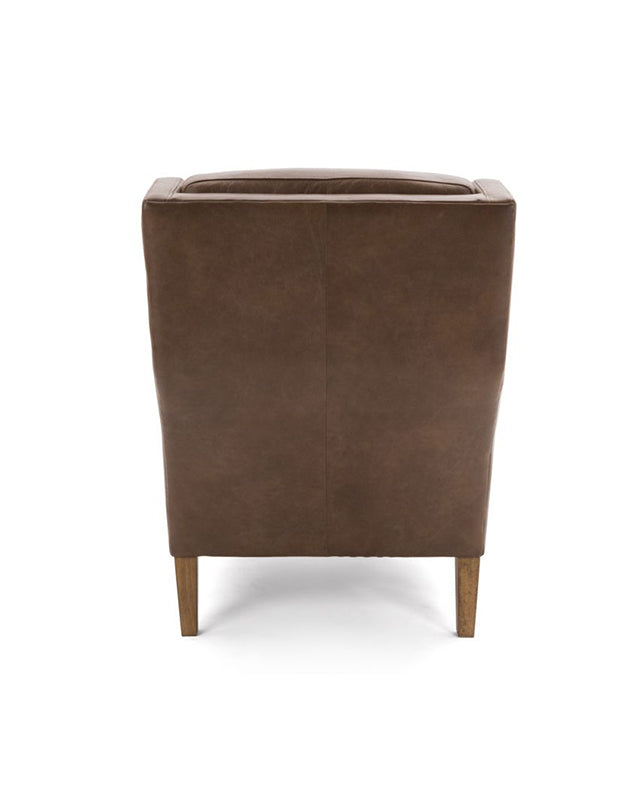 Clarke Chair (Tan Leather)