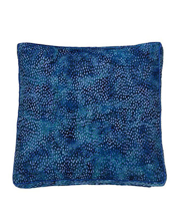Ceylon Blue Rain Cushion 50x50