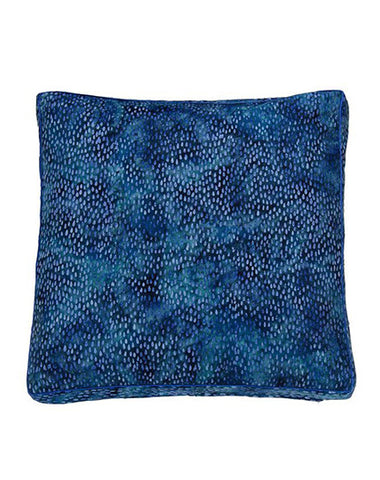 Ceylon Blue Rain Cushion