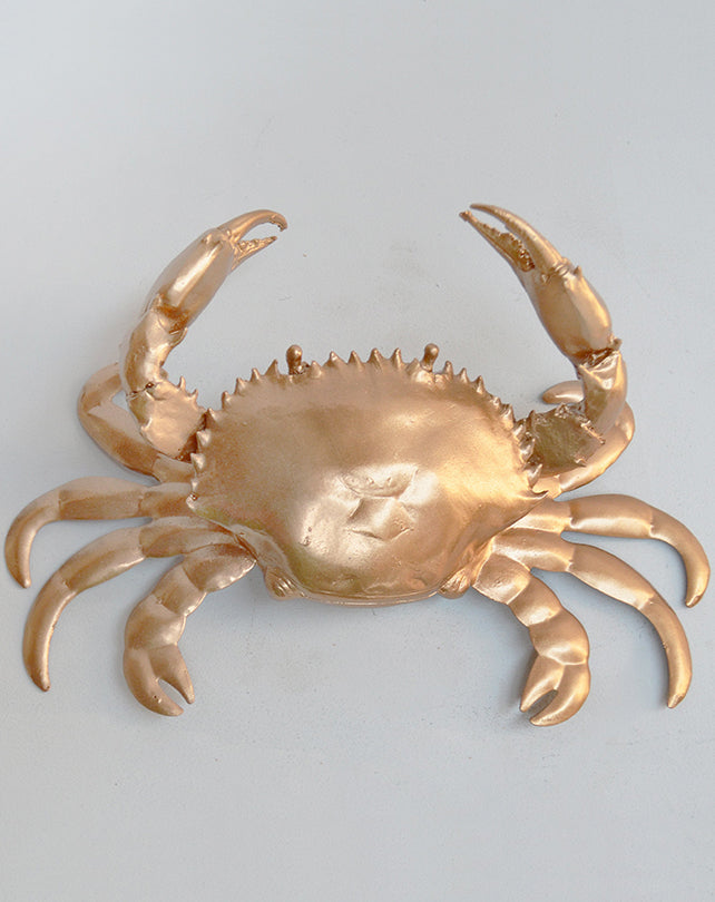Metallic Crab - Gold