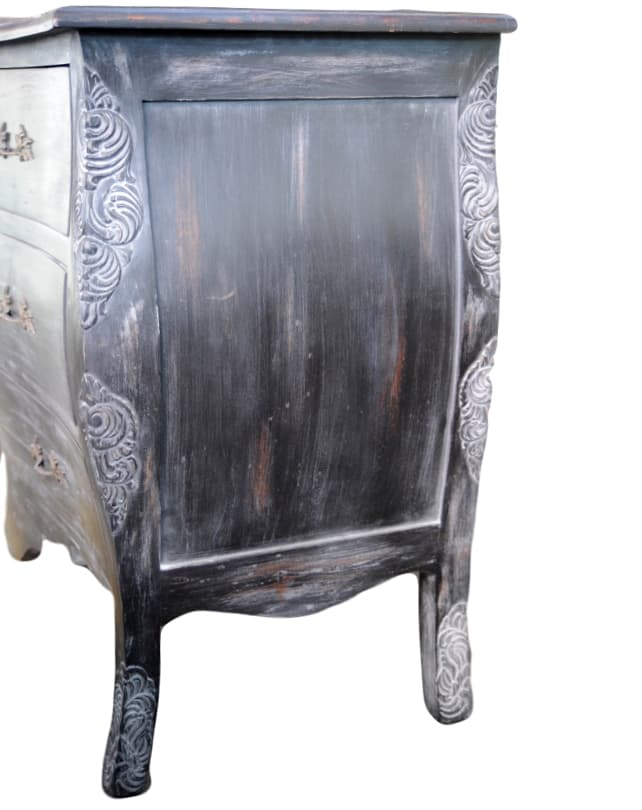 Florence Commode (Antique Black)