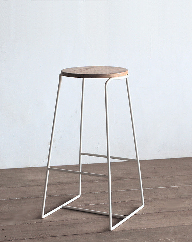 Dane Stool - White