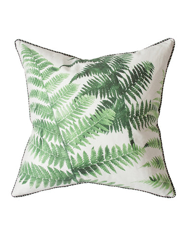 Emerald Tree Fern Cushion 55x55