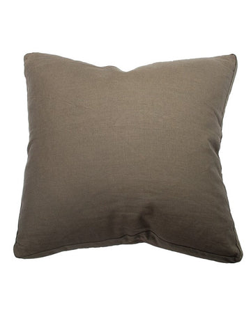 Essential Rosemary Linen Velvet Gusset Cushion 55x55