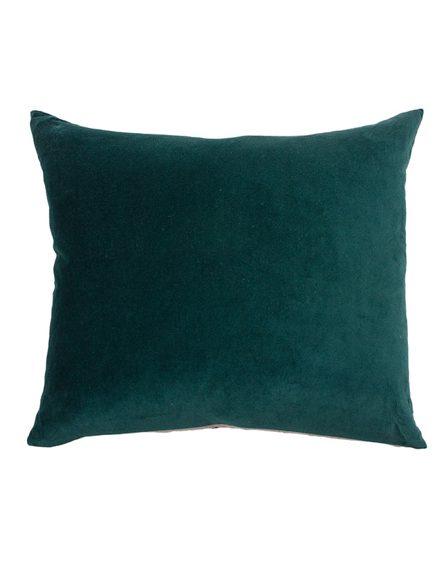 Essential Emerald  Velvet Cushion 50x55