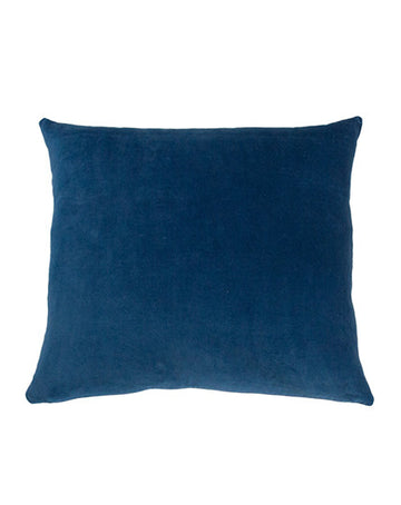 Essential Indigo Velvet Cushion 50x55