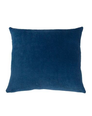 Essential Indigo Velvet Cushion