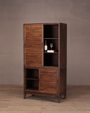 Shandong Tall Cabinet 4 drs
