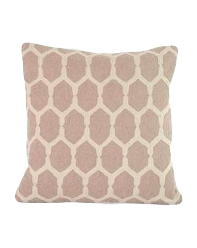 Gardenia Taupe cushion