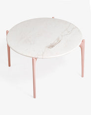 Geo Round Marble Coffee Table