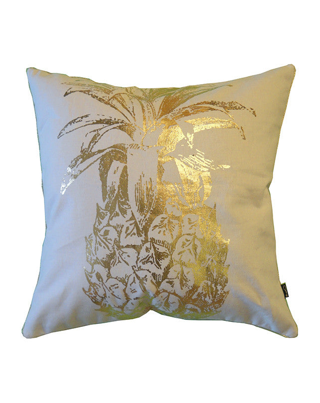 Golden Pineapple Cushion