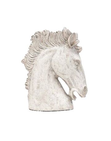 Horse Head Concrete Finish