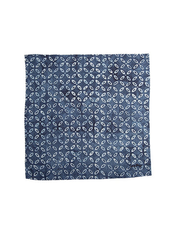 Indigo Kawang Linen Cloth