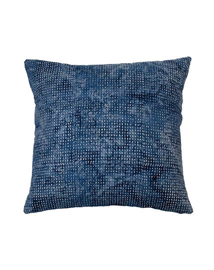 Indigo Tiny Rice Cushion