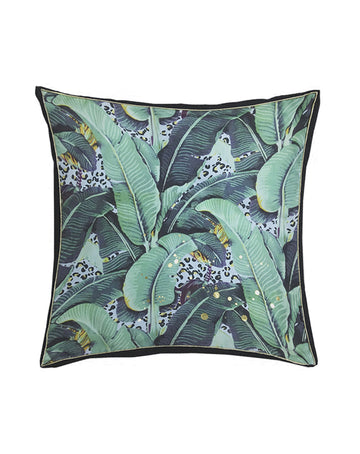 Jungle Kitty Cushion