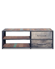 Kleo TV stand 2 drw 2 shelf 120cm