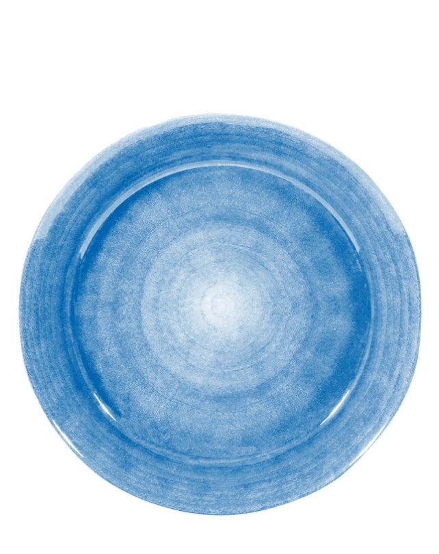 Light blue platter bowl