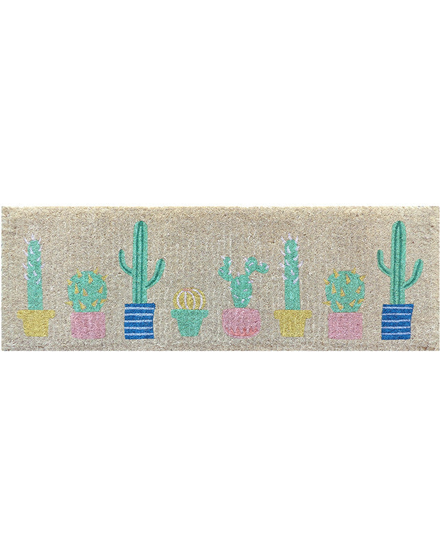 Long Cactus Doormat