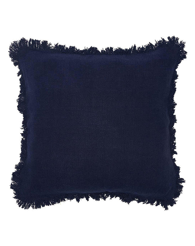 Luca Boho Cushion 50x50 Navy