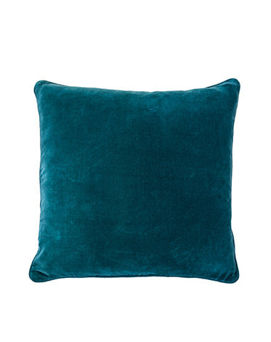 Lynette Ocean Teal Cushion 50x50