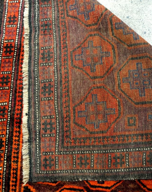 Antique Balouch Rug 196x96cm