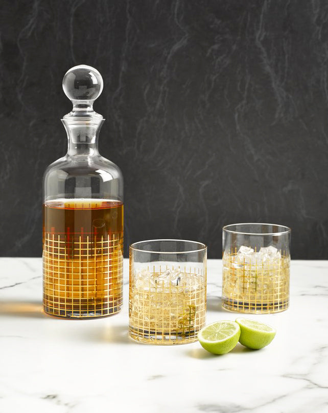 Manhattan Whiskey DeCanter