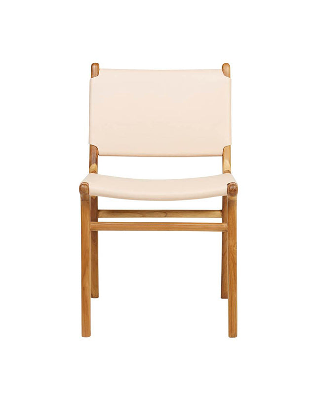 Maya Dining Chair (Flat Leather)