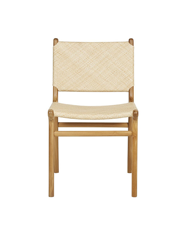 Maya Plush Dining Chair (Rattan)
