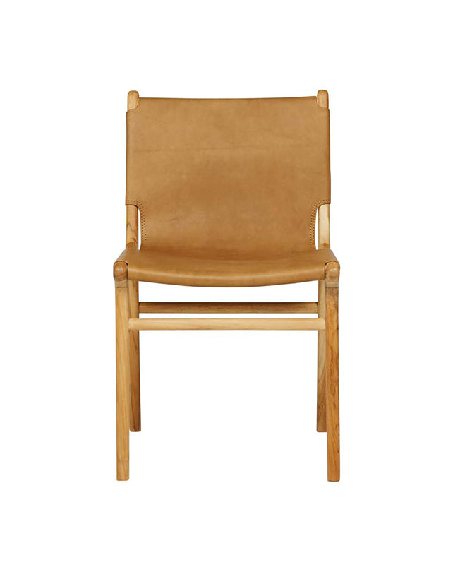 Maya Sling Dining Chair - Tan