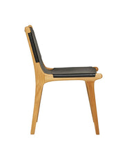 Maya Sling Dining Chair - Black