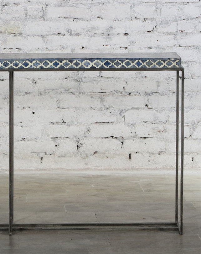 Mughal Console - Blue Bone Inlay