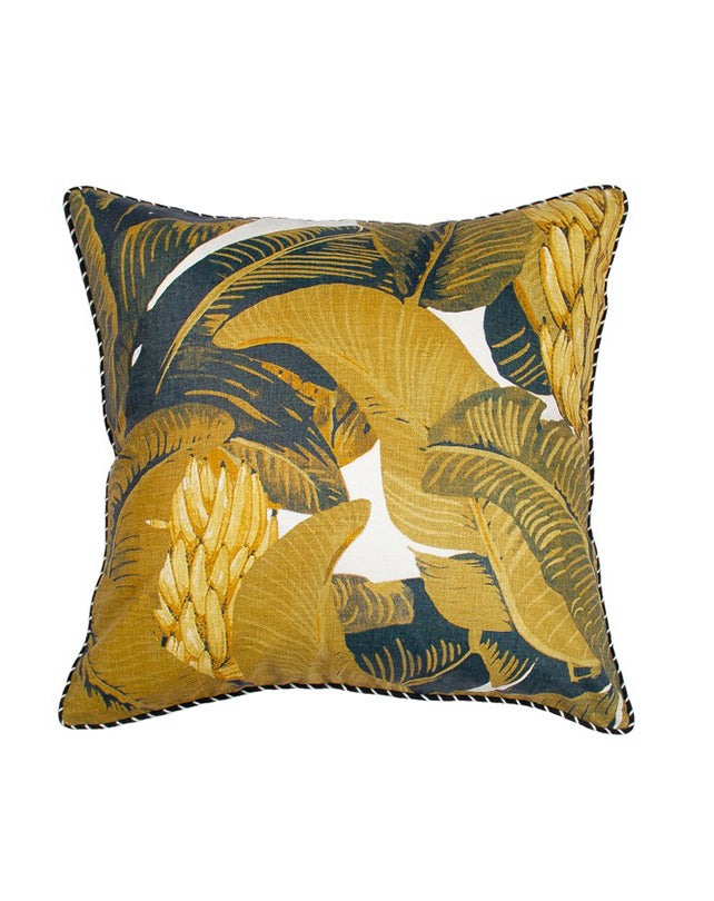 Linen Mustique Golden Cushion 55x55