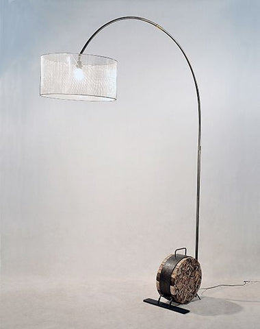 Interior Cylinder Floor Lamp