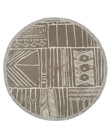 The Nomad Roundie Towel