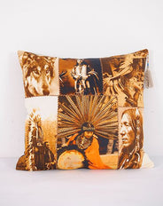 Native American Montage cushion