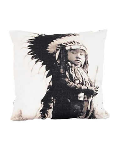 Native American Boy cushion