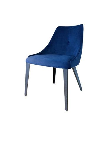 Olga Dining Chair (Navy)