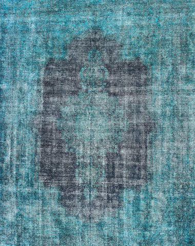 Peacock Blue Reloaded Rug 348x288