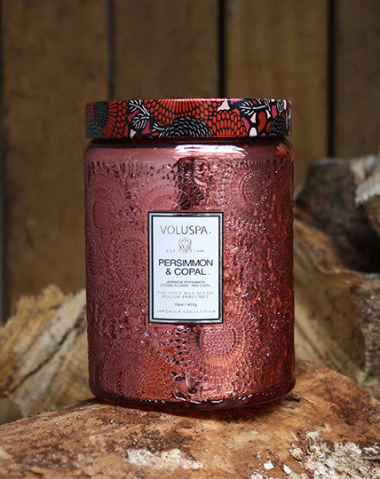 Voluspa Persimmon & Copal Candle 100hr