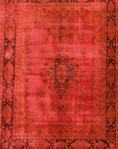 Reloaded Rug Red 210x149