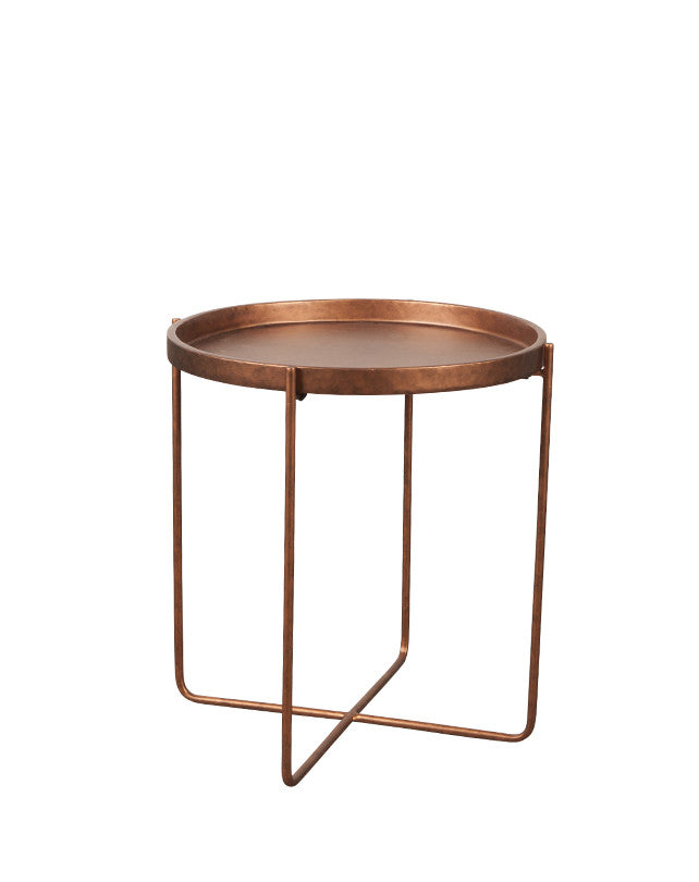 Republic Round Tray Side Table