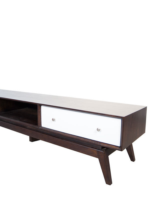 Sari Entertainment Unit Open Middle Shelf