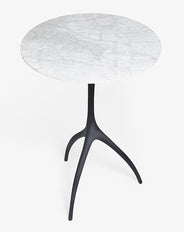 Talon Round Bistro Table (Marble)