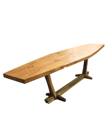Teak Slab Table 3m