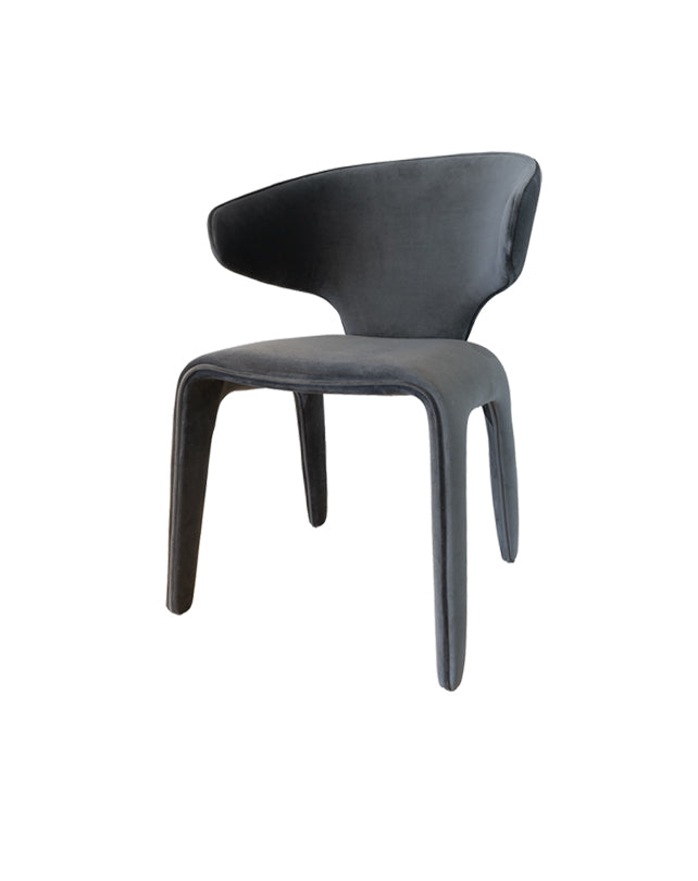 Toro Dining Chair (Dark Antrazit)